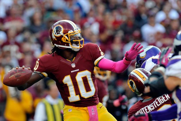 Robert Griffin III: Redskins QB Won't Have a Great Game in Week 7 vs. Giants