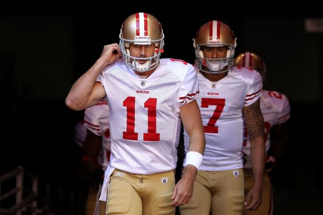 Alex Smith vs. Colin Kaepernick: How Should 49ers Use Each QB?