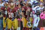 Adrian Peterson Says DeAngelo Hall 'Slapped Me in the Face'