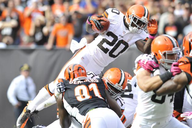 Montario Hardesty's Effort off the Bench Is a Hit for Cleveland Browns