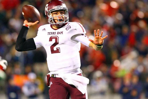 Analyzing Texas A&M Freshman QB Johnny Manziel's Heisman Trophy Chances