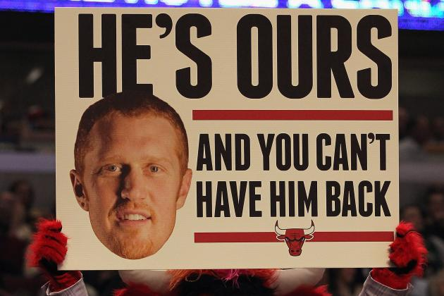 Video: Brian Scalabrine's 'White Mamba' Explanation Cements Him as NBA Hero