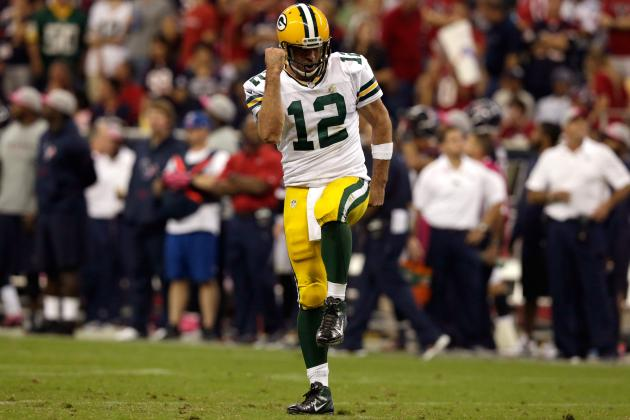 Aaron Rodgers and the Packers Silence Critics in Statement Win over Texans