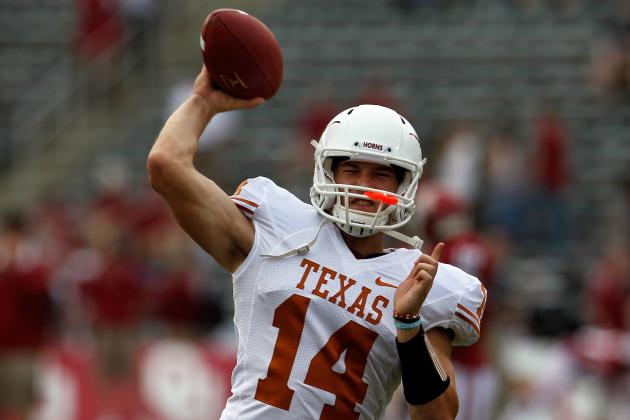 David Ash Injury: Longhorns Have No Shot at Beating Baylor Without Sophomore QB