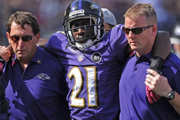 Lardarius Webb: MRI Results Reveal Torn ACL for Ravens CB