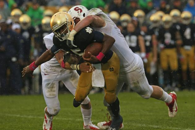 Notre Dame Football: Why Irish Are Destined to Slide out of the BCS Top 10