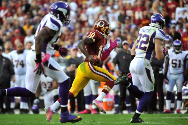 Vikings Psyched Themselves Out Against RG3 and More NFC North News