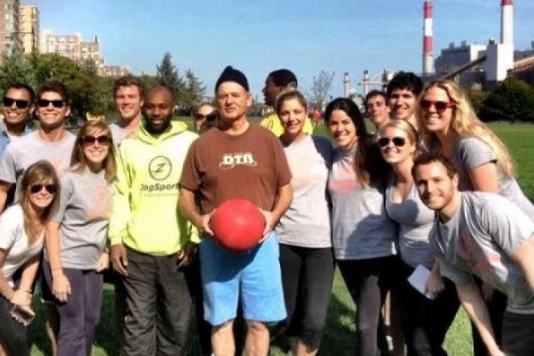 Bill Murray Crashes a Kickball League