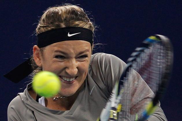 Victoria Azarenka Beats Julia Goerges to Win Generali Ladies