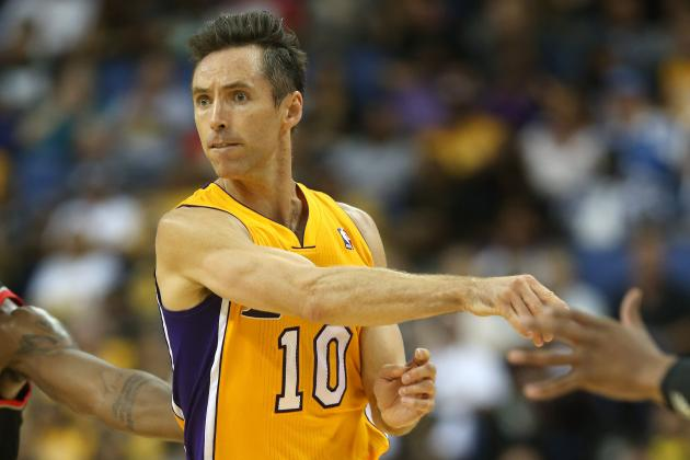 Breaking Down Why L.A. Lakers Need to Keep the Ball in Steve Nash's Hands