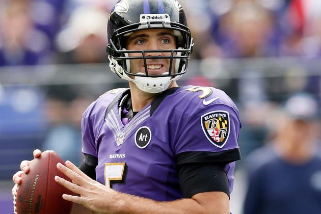 Joe Flacco Doesn't Know If Ravens Deserved to Win