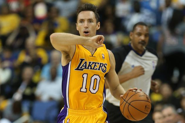 Steve Nash Will Make Waves with the Lakers