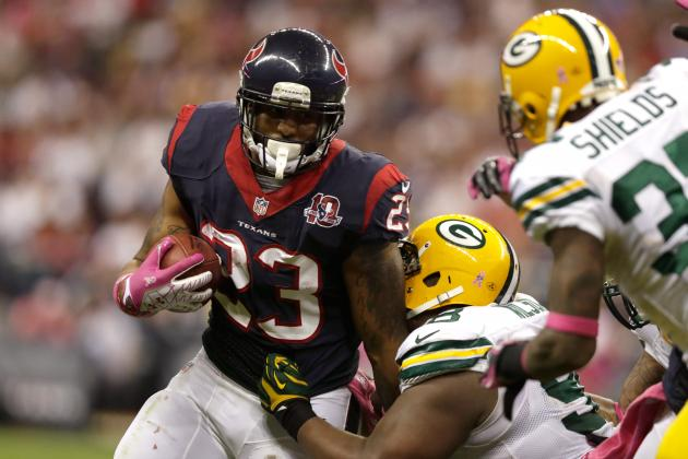 2012 Fantasy Football Running Back Rankings: Week 7