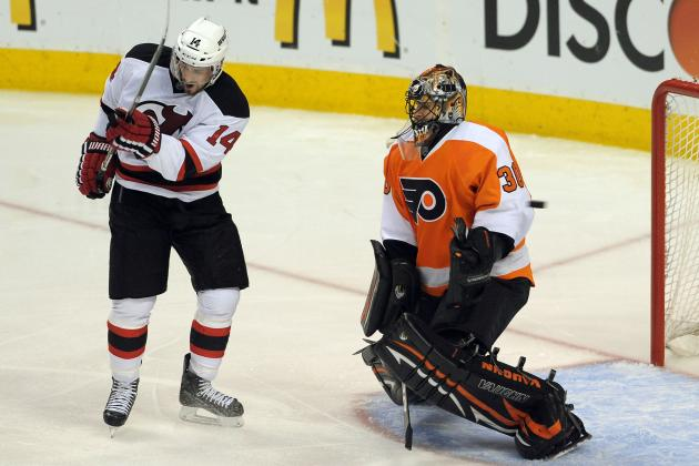 Watch Ilya Bryzgalov, Comedic Powerhouse, Falling Down for No Reason (VIDEO)