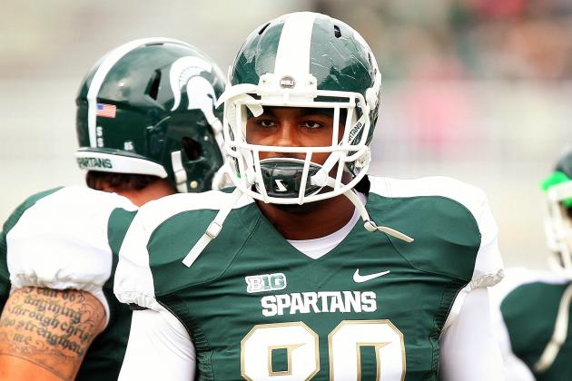 No Word on Dion Sims' Status as Michigan State Readies for Michigan