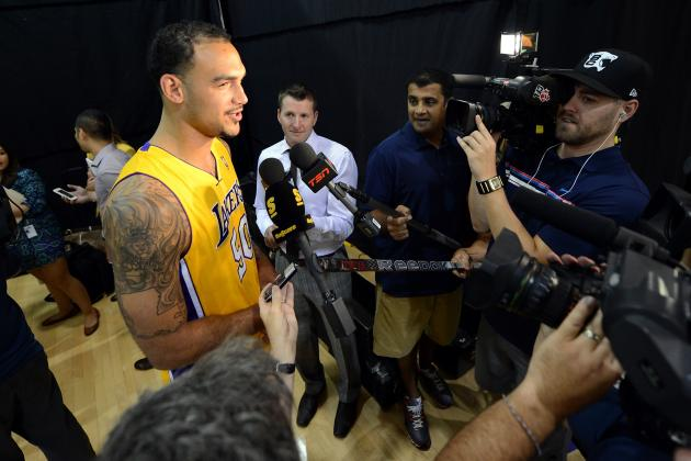 Robert Sacre: Everything You Need to Know About Lakers Mr. Irrelevant