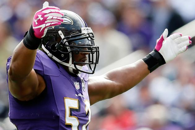 Ray Lewis Out for Season After Tearing Right Triceps