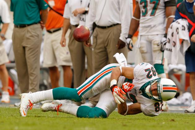 Miami Dolphins: Ryan Tannehill Can't Afford Brian Hartline Disappearing Again