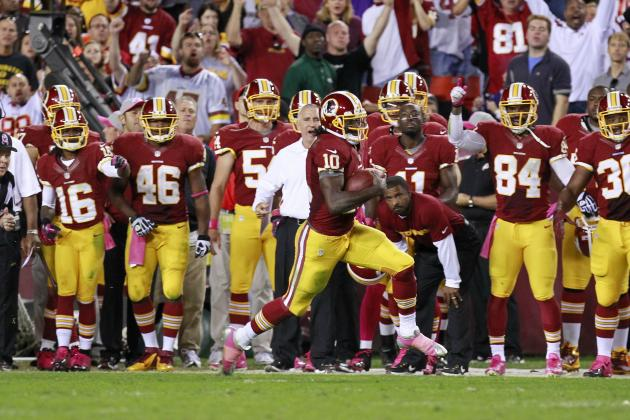 Washington Redskins: A Closer Look at the First Signature Moment of RG3's Career