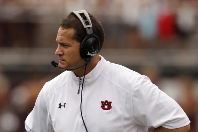 Gene Chizik: Games That Auburn Must Win to Save Head Coach's Job
