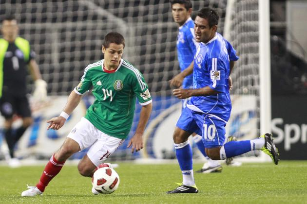 Mexico 2-0 El Salvador: World Cup 2014 Qualifying as It Happened