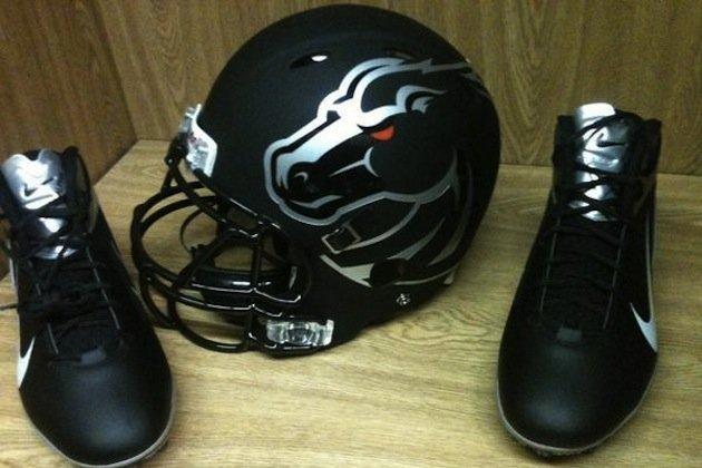 Boise State Helmets: Sleek Design Fitting for Strong Program