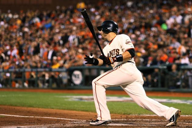 Marco Scutaro Exits NLCS Game 2 with Injury from Takeout Slide