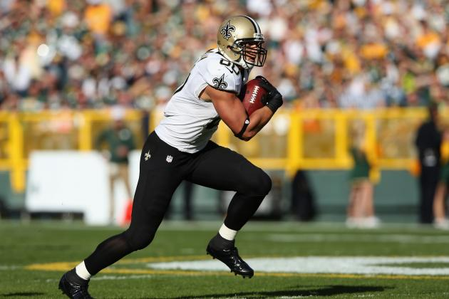2012 Fantasy Football Tight End Rankings: NFL Week 7