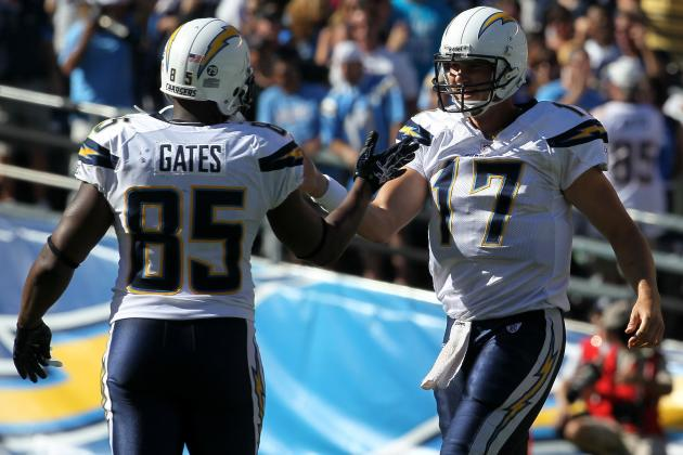 Is Philip Rivers to Antonio Gates the Greatest QB/TE Combination in NFL History?