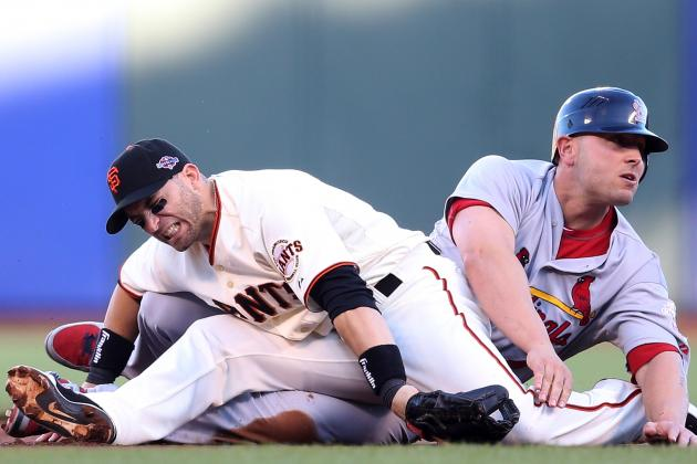 Matheny Defends Holliday's Slide