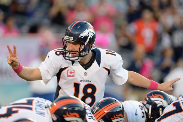 With Peyton Manning Under Center, You Can Never Count Denver Broncos Out