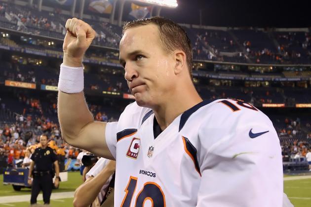 Peyton Manning: Broncos QB Continues to Be Elite Fantasy Option
