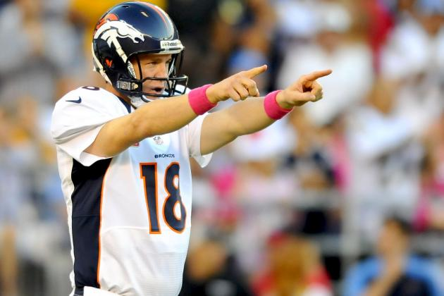 Peyton Manning Proves He's Back with Incredible Comeback Win over Chargers