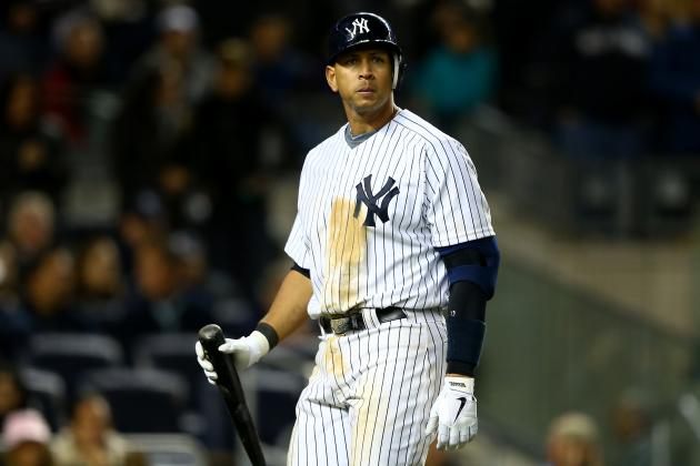 Alex Rodriguez Reportedly Flirts with Women During Yankees' Struggles in ALCS