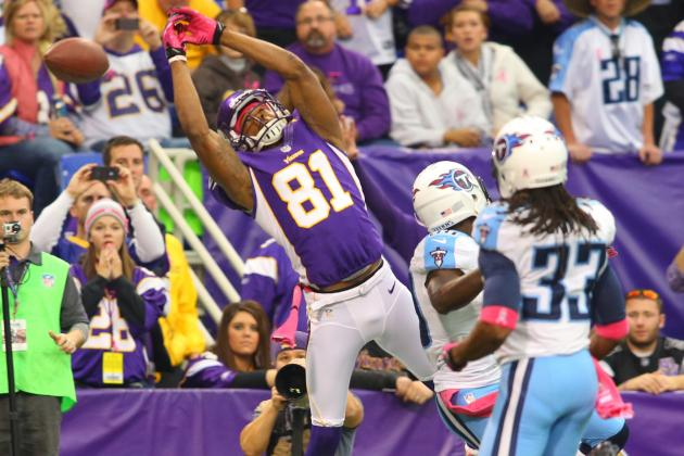 Vikings Receiver Simpson Is Unhappy and Injured Plus More NFC North News