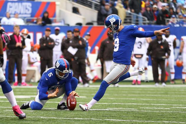 2012 Fantasy Football Kicker Rankings: NFL Week 7