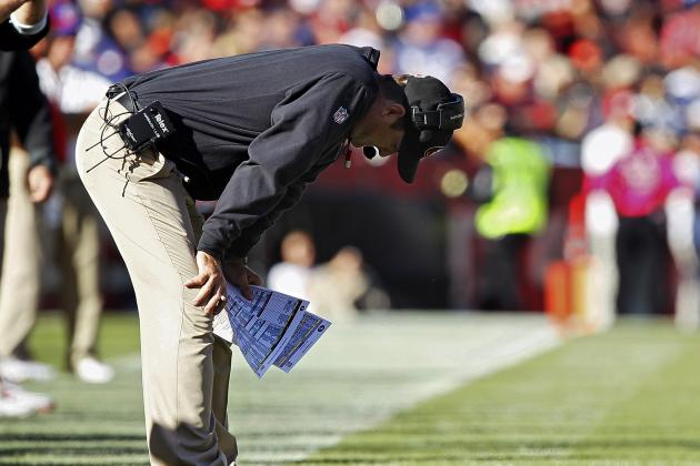 San Francisco 49ers' Vaunted Harbaugh Rushing Attack Loses