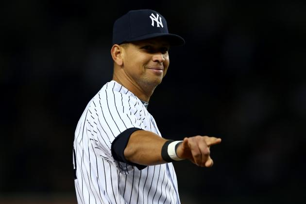 How Alex Rodriguez's Dugout Flirtation Shows He's Checked Out from the Yankees