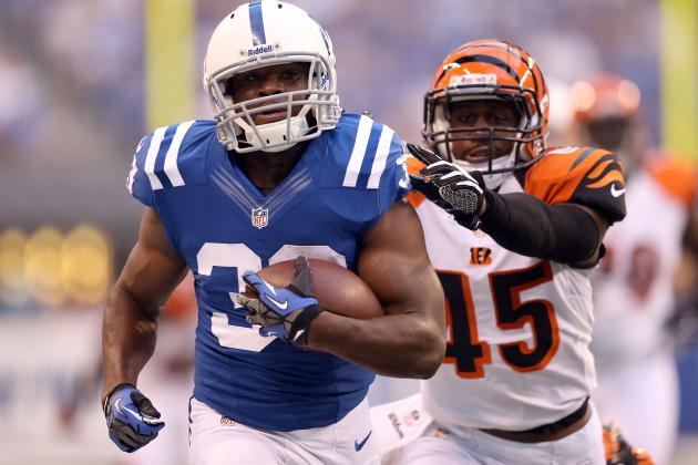 Vick Ballard: Why You Should Be Wary of Starting Colts RB vs. Browns