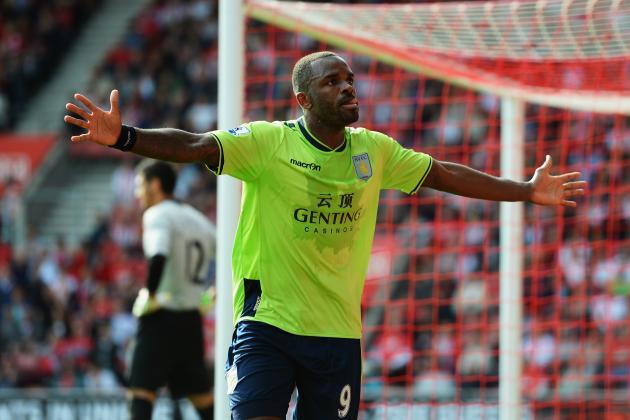 Aston Villa: Darren Bent Needs to Be Reinserted into Starting Lineup