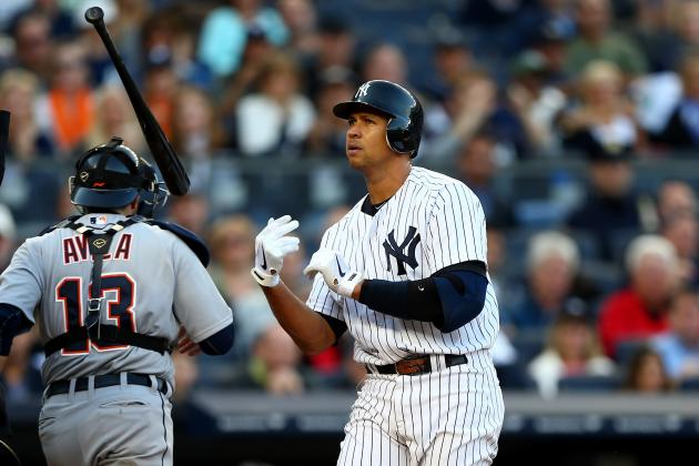 Yankees' Alex Rodriguez Strikes out with Women Too, Reportedly Flirts in Game 1