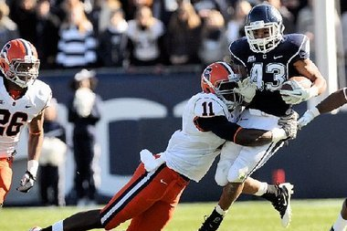 UConn Running Back Lyle McCombs 'Very Probable' to Play Friday at Syracuse