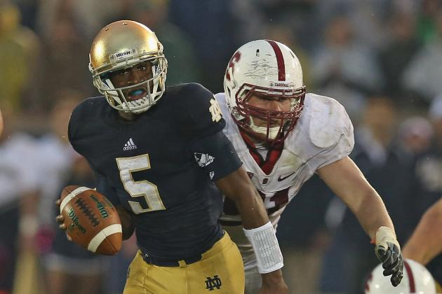 Notre Dame QB Golson Still Not Cleared