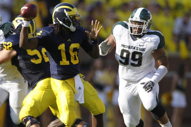 Michigan State vs. Michigan: Wolverines Will Prove MSU Is Still
