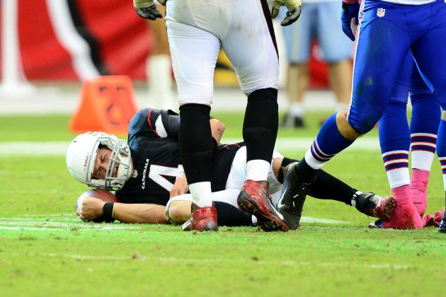 Arizona Cardinals' QB Kevin Kolb to Miss 'Several Weeks' with Rib Injury