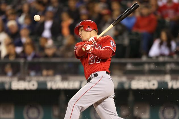 Mike Trout Named Baseball America's Player of the Year
