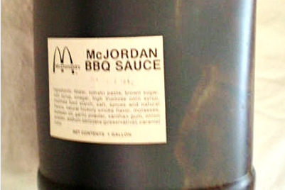 Michael Jordan BBQ Sauce Sold for $10,000, Completely Worth It