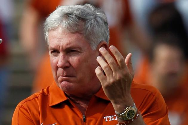 Texas Football: Mack Brown Says He'll