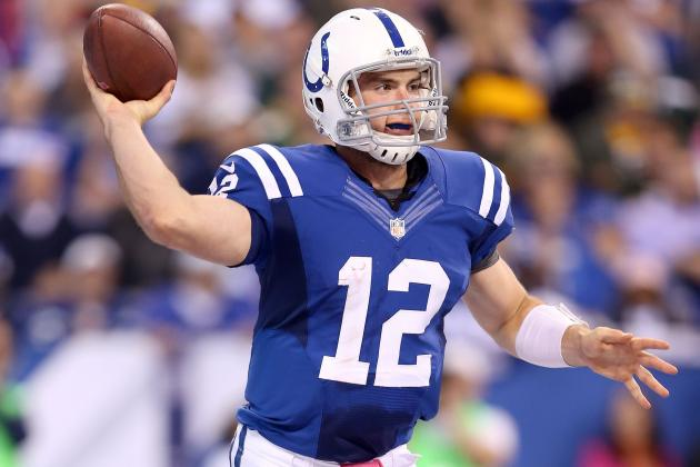 Andrew Luck: What Fantasy Owners Should Expect from Colts QB in Week 7