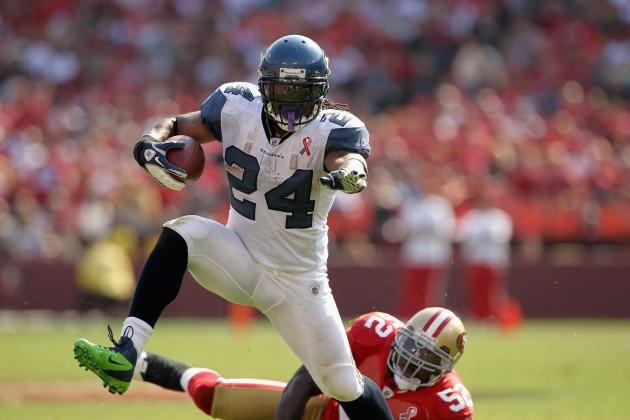 Seahawks vs 49ers: Comparing Marshawn Lynch and Frank Gore
